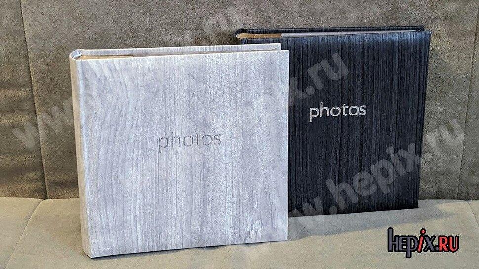 Крафтовые фотоальбомы дуб и тополь