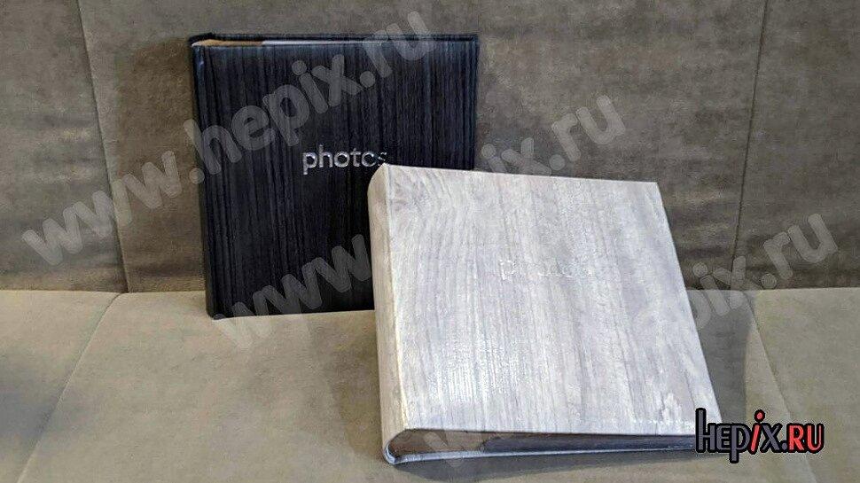 Фотоальбомы крафтовые дерево