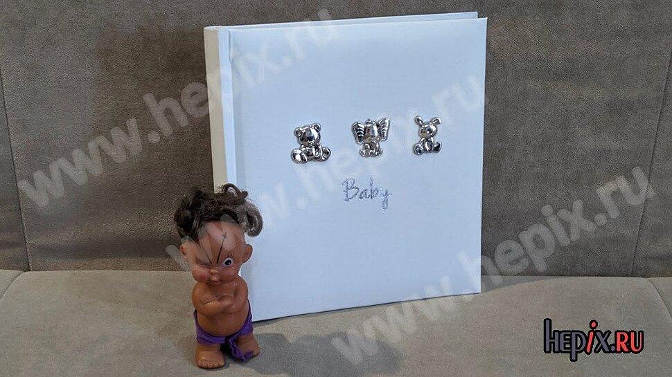"""Детский фотоальбом """"Baby"""" для новорожденных"""