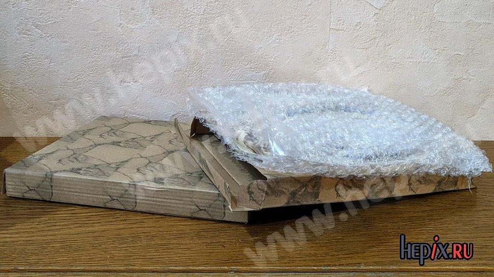 Упаковка винтажных фоторамок из керамики